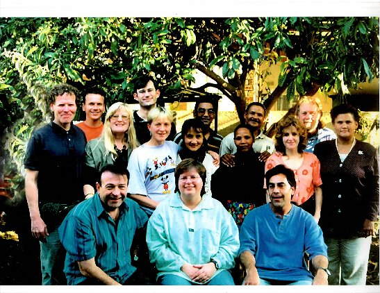 Restoring Wholeness Ministries 1st team - 1997