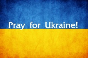 Ukrainian flag - Pray for Ukraine