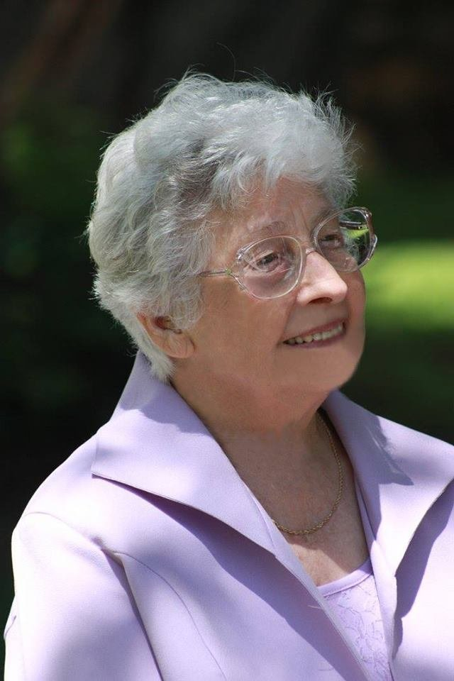 Ida Williams at our wedding in 2009