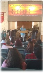 Crossroads Community Church #3– Sunday, 26 June 2016