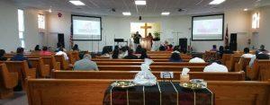 Wynn at spanish church in Lompoc - June 2016