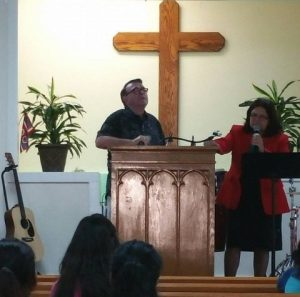 Wynn preaching at spanish church in Lompoc June 2016