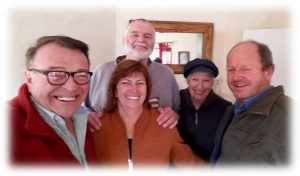 With Bronwyn & Al Metcalf and Yvonne & Brian Morison O'Connor.