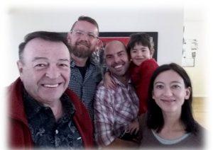 With Flip van Rooyen, Robert Shawn Munnick and Tracy-leigh Munnick.